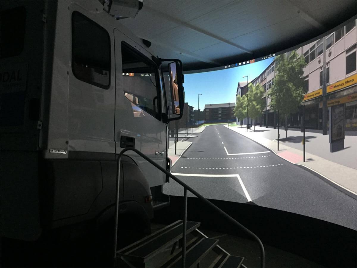 LGV Simulator