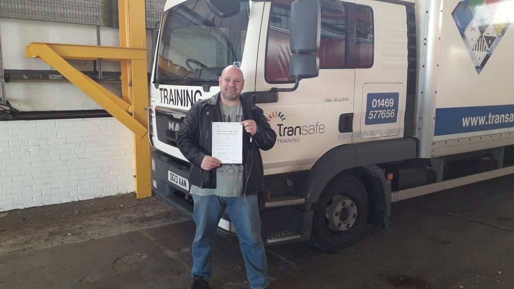 Another pass for the LGV apprentices!